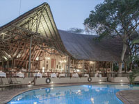Chobe Safari Lodge main lodge, Botswana