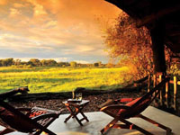 The Hide Safari Camp in Hwange National Park, Zimbabwe