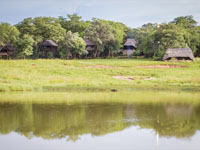 The treehouses at Ivory Lodge, Hwange National Park, Zimbabwe