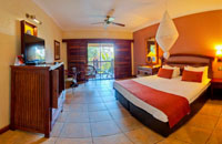 Standard room at the Kingdom Hotel just a few minutes walk from the Victoria Falls, Zimbabwe