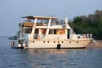 The Lady Jacqueline Houseboat in Binga, Zimbabwe
