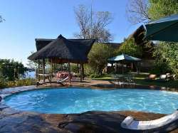 Poolside at Muchenje Safari Lodge - Chobe, Botswana