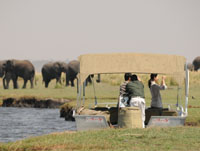 River cruise in Chobe, Chobe National Park, Botswana