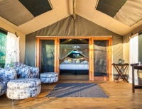 Dinare Camp in the Okavango Delta, Botswana