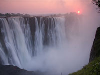 See the mighty Victoria Falls and be inspired