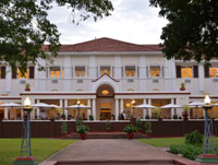 The historic Victoria Falls Hotel - the first hotel in the Victoria Falls area