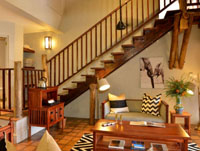 A suite at Victoria Falls Safari Lodge, Zimbabwe