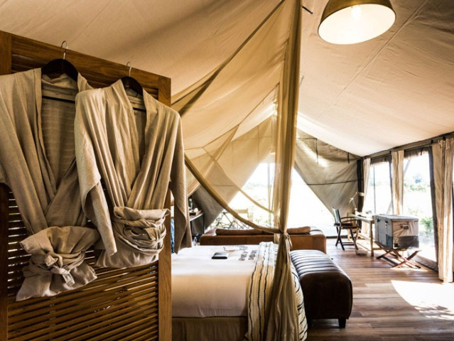 Luxurious rooms on Chief's Island