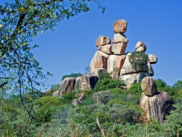 The Matobo Hills  in Zimbabwe
