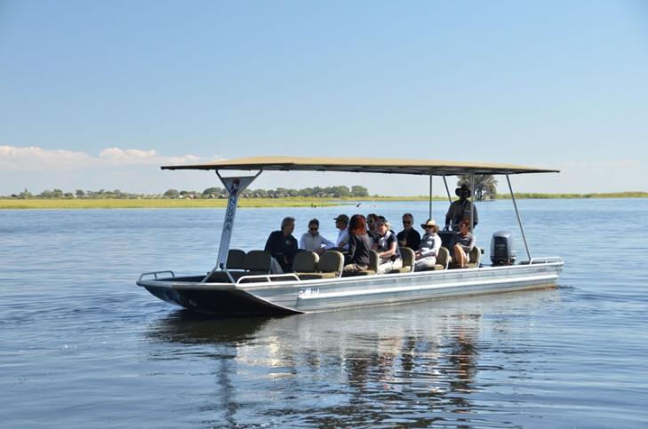Boat cruise on the Chobe River - Botswana