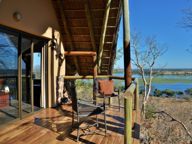 Suite with a view at Muchenje Safari Lodge - Chobe National park - Botswana