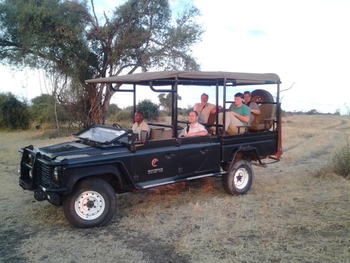 Game drive in Chobe