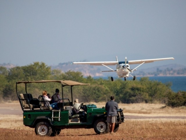 Fly-in transfer into Matusadona National Park - Lake Kariba, Zimbabwe