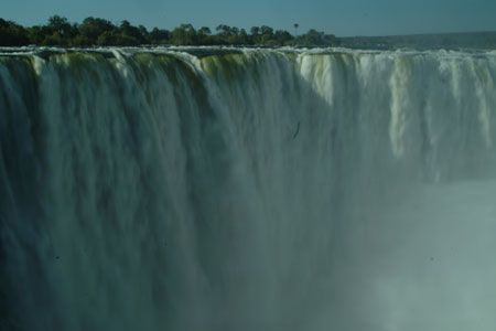 Victoria Falls in June