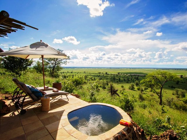 Ngoma Safari Lodge room, Chobe Forest reserve, Botswana