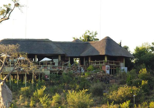 Main lodge and dining area at Ngoma Safari Lodge - Chobe National Park, Botswana