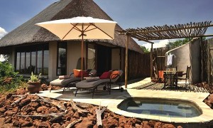 Front view of a room at Ngoma Safari Lodge - Chobe, Botswana