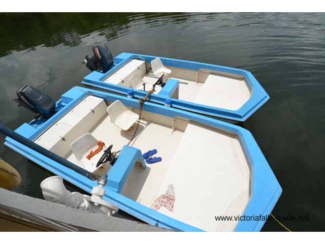 2 x 40hp tender boats