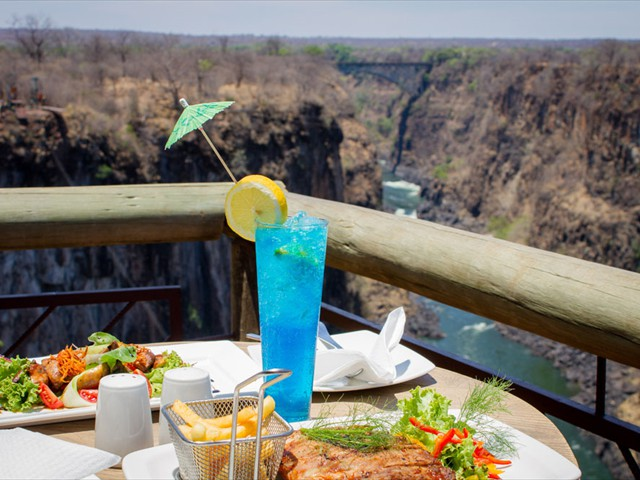 Lunch at the Lookout Cafe is included