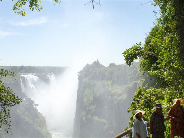 Plus a guided tour of the Victoria Falls