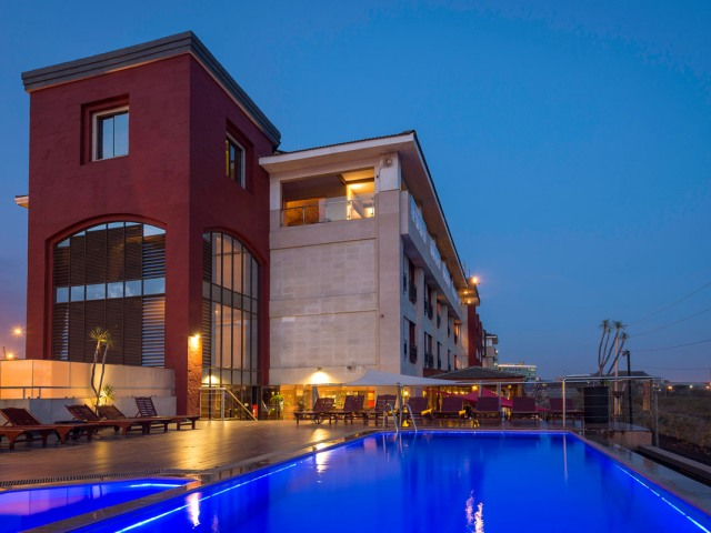 Poolside at Ole Sereni Hotel, Nairobi, Kenya