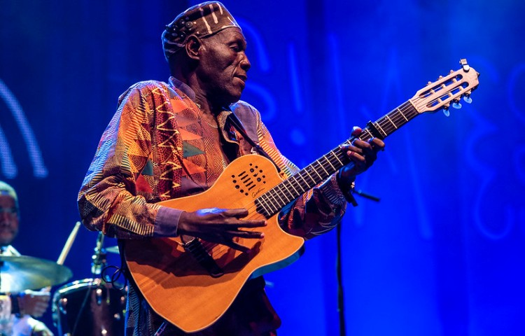 The late Oliver Mtukudzi - more than a guitar man, his musical genius and charisma makes him an important icon in Zimbabwe music history