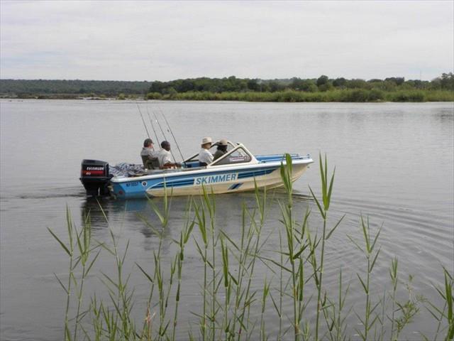 Fishing on the Zambezi River with Pioneers Camp - Zimbabwe