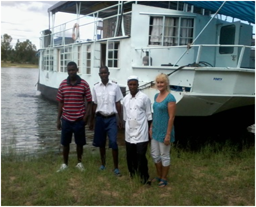 The Ponty Houseboat on Lake Kariba - Binga, Zimbabwe