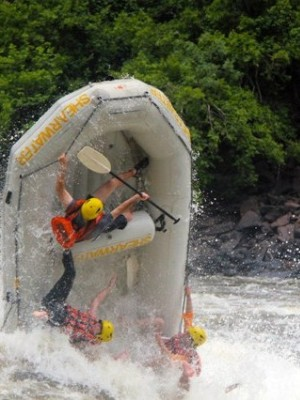 World class rafting on the Zambezi River, plus an adrenalin jump into the gorge by bungee or swing