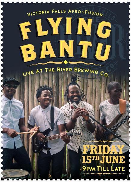 Flying Bantu of Victoria Falls, Zimbabwe