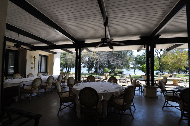 The Royal Livingstone restaurant