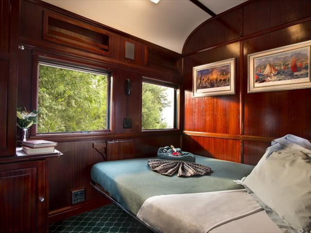 A Rovos Rail Pullman Suite