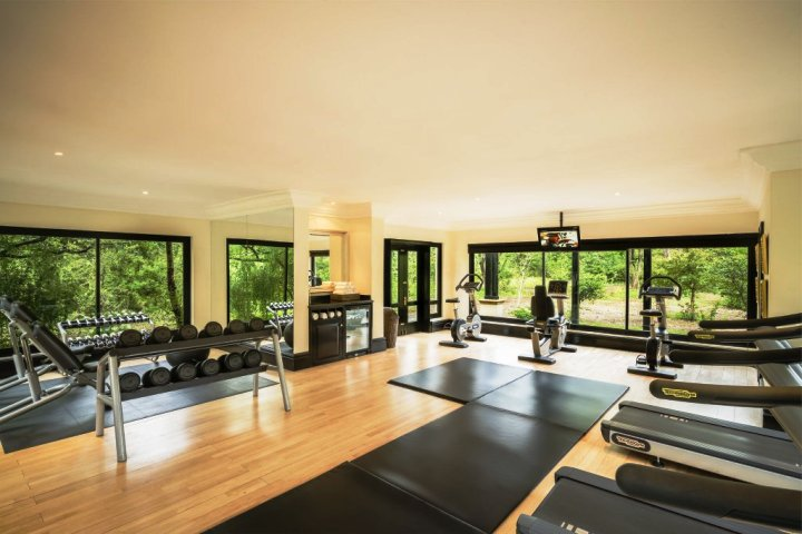 The gym at the Royal Livingstone