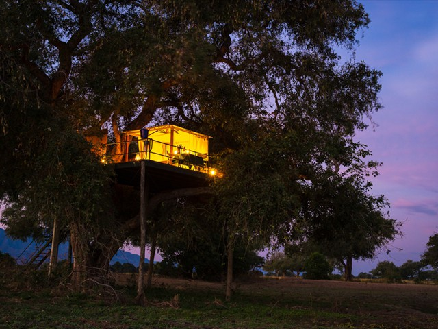 Sleep under the African stars in Mana Pools National Park, Zimbabwe