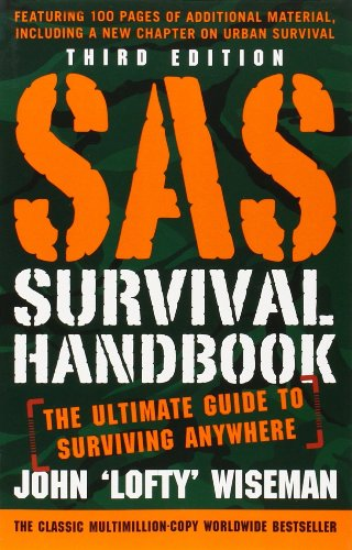SAS Survival handbook for surviving in the wild - available on Amazon