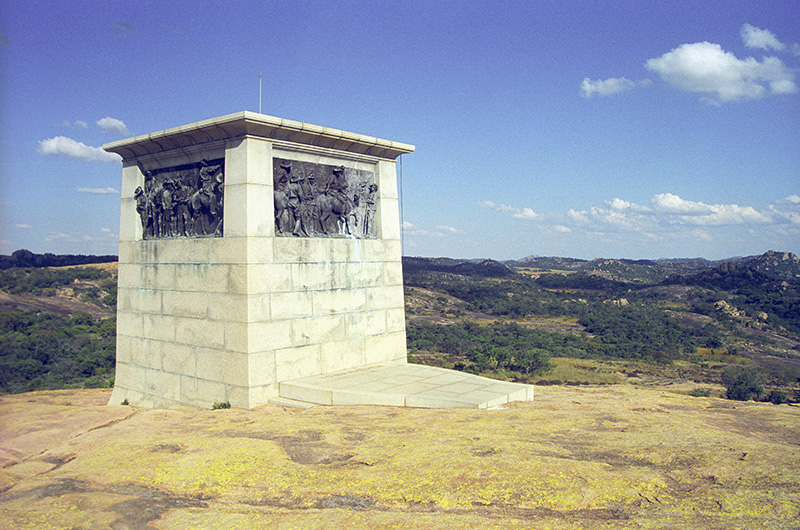 Worlds View Shangani Patrol Memorial in Matobo Hills