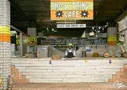 Shoestrings Cafe, Shoestrings Backpackers Lodge, Victoria Falls, Zimbabwe