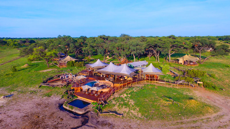 View of Somalisa Camp
