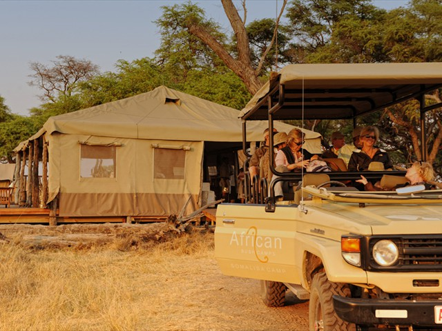 Activities include game drives...