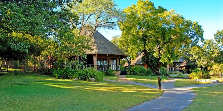 Beautiful outdoors at Stanley & Livingstone Hotel, Victoria Falls - Zimbabwe