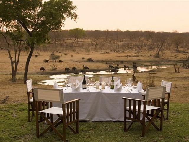 A splenid dining option at Stanley & Livingstone Hotel