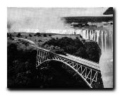 Steam Train on Victoria Falls Bridge