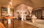Luxurious tented suites