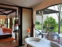 Gorgeous open plan with luxurious bath