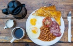 Hearty breakfast (not included)