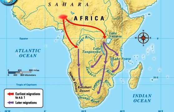 Bantu migration - Africa
