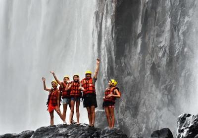 Fun under the Falls