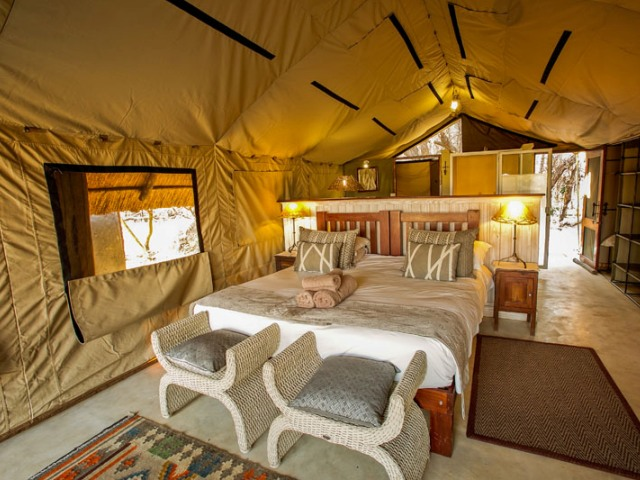The Hide Safari Camp, Hwange National Park, Zimbabwe