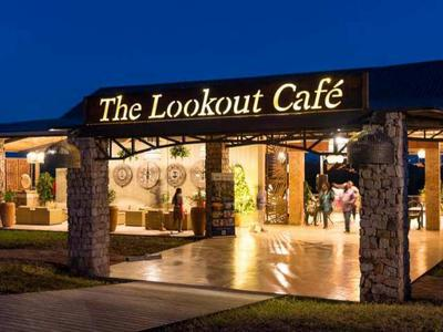 The new Lookout Cafe