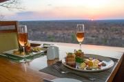 Makuwa Kuwa Restaurant Victoria Falls Safari Lodge, Zimbabwe